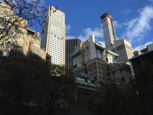 MOMA's Sculpture Garden, looking north