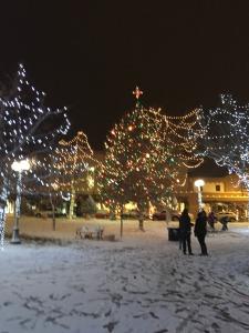 Snowy Piazza