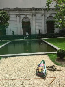 Russell Page Garden at the Frick Collection