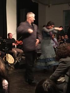 Flamenco dancers: Ramzi Eledlebi and Barbara Martinez